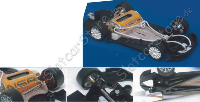 slot car karosserie 1:32 porsche 911 gt3